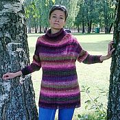 Одежда handmade. Livemaster - original item Copy of Short-sleeved sweater made in fair isle technique. Handmade.