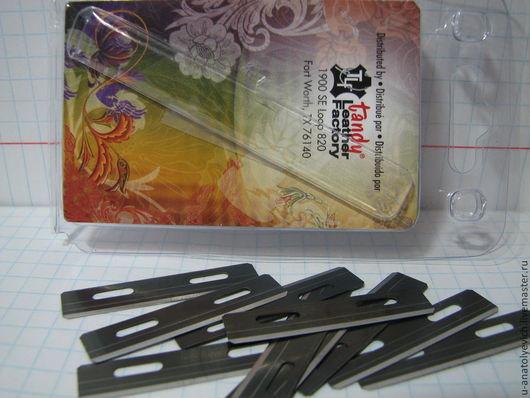 Другие виды рукоделия ручной работы. Ярмарка Мастеров - ручная работа. Купить Лезвия для шнурореза и бевеллера рубанка. Handmade. Серебряный