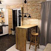 Кухни ручной работы. Ярмарка Мастеров - ручная работа Барная стойка лофт. Handmade.