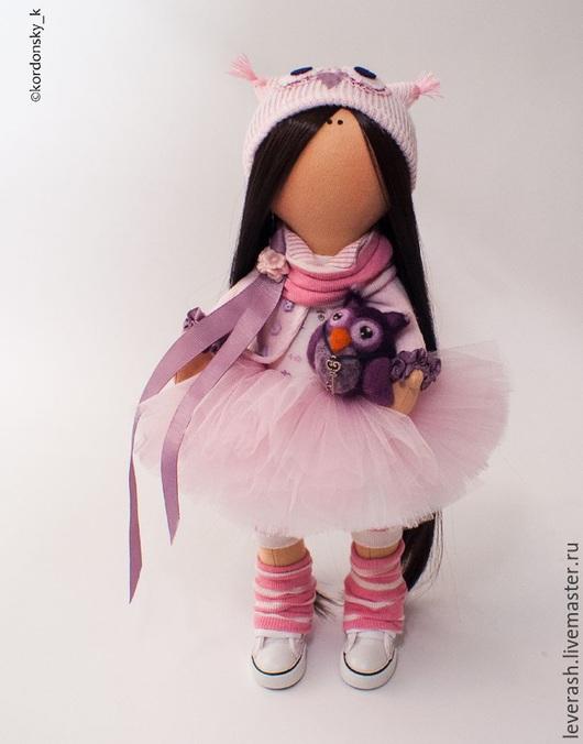 Коллекционные куклы ручной работы. Ярмарка Мастеров - ручная работа. Купить Кукла. Handmade. Бледно-розовый, подарок, трикотаж