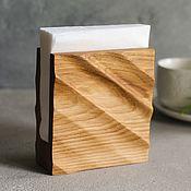 Для дома и интерьера handmade. Livemaster - original item Wooden napkin holder