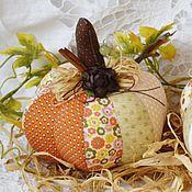 Куклы и игрушки ручной работы. Ярмарка Мастеров - ручная работа Осень в стиле Прованс (тыковки) 2. Handmade.