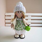 Куклы и игрушки ручной работы. Ярмарка Мастеров - ручная работа Кукла Инночка с яблочком. Handmade.