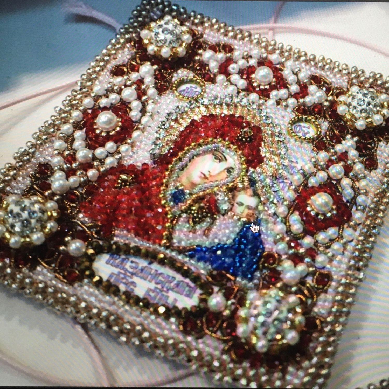 Оберег с молитвой «Казанская Божья Матерь», Иконы, Москва,  Фото №1