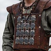 Субкультуры handmade. Livemaster - original item Viking leather armor. Handmade.