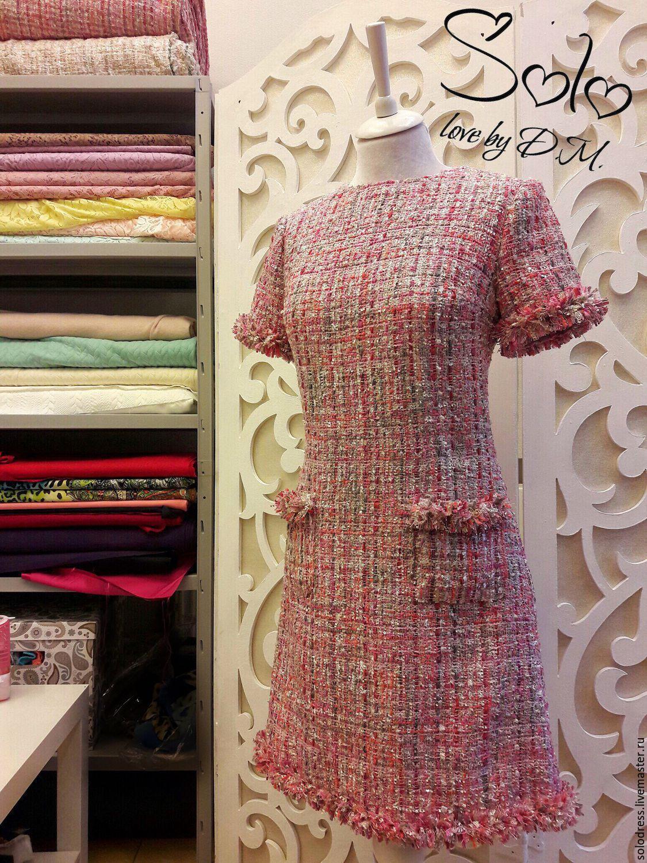 Сшить платье из ткани шанель 54