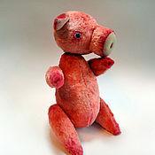Куклы и игрушки ручной работы. Ярмарка Мастеров - ручная работа Хрюша. Handmade.