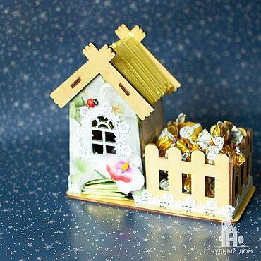 Для дома и интерьера ручной работы. Ярмарка Мастеров - ручная работа Чайный домик «Белая орхидея». Handmade.