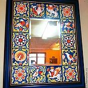 """Для дома и интерьера ручной работы. Ярмарка Мастеров - ручная работа зеркало: """" Былина"""". Handmade."""