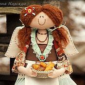 Куклы и игрушки ручной работы. Ярмарка Мастеров - ручная работа Девочка с выпечкой. Хлебная фея.. Handmade.