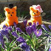 Stuffed Toys handmade. Livemaster - original item Chanterelles. Handmade.