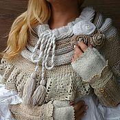 Аксессуары handmade. Livemaster - original item Warm knitted wool Snood. Handmade.