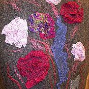 """Одежда ручной работы. Ярмарка Мастеров - ручная работа жилет войлочный """"В серой дымке"""". Handmade."""