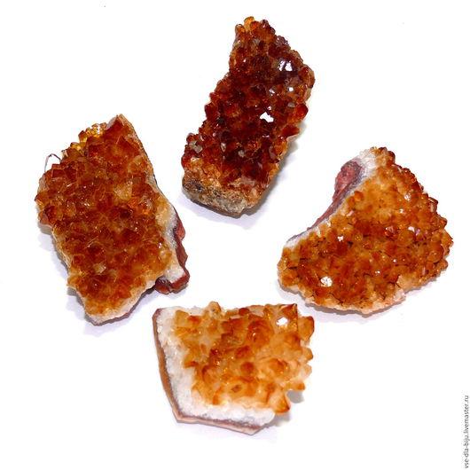 цитрин микродруза цитрин натуральный кристаллы цитрина  vsedlabiju