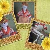 Для дома и интерьера ручной работы. Ярмарка Мастеров - ручная работа Кукла-держатель т.бумаги или полотенец. Handmade.