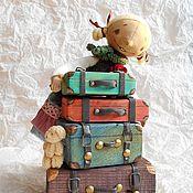 Куклы и игрушки ручной работы. Ярмарка Мастеров - ручная работа Чемоданное настроение. Handmade.
