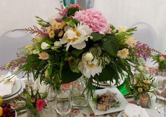 Свадебные цветы ручной работы. Ярмарка Мастеров - ручная работа. Купить Свадебная флористика. Handmade. Бледно-розовый, букет невесты