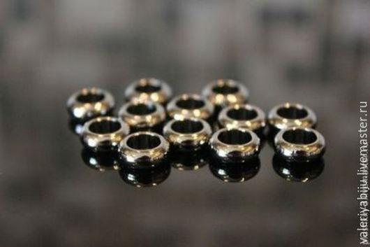 Для украшений ручной работы. Ярмарка Мастеров - ручная работа. Купить Бусины ( оксидированная латунь) в 2-х размерах. Handmade.