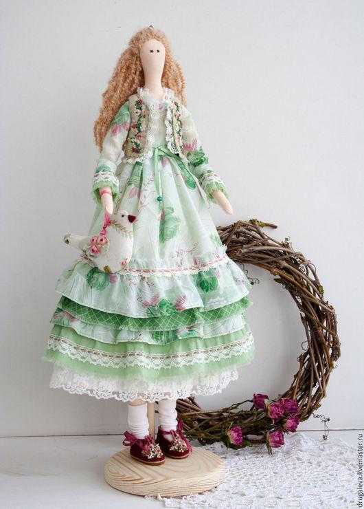 Куклы Тильды ручной работы. Ярмарка Мастеров - ручная работа. Купить Кукла тильда Марта, текстильная кукла, интерьерная кукла. Handmade.