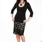 Одежда ручной работы. Ярмарка Мастеров - ручная работа Платье вязаное 4402. Handmade.