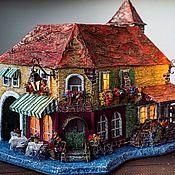 """Сувениры и подарки ручной работы. Ярмарка Мастеров - ручная работа этюд """"Cafe"""". Handmade."""