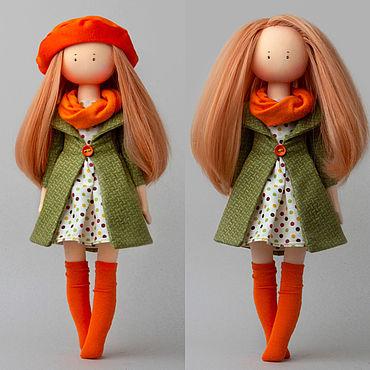 Куклы и игрушки ручной работы. Ярмарка Мастеров - ручная работа Кукла текстильная интерьерная из ткани. Handmade.
