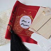 Сумки и аксессуары handmade. Livemaster - original item Set to create a clutch-book. Handmade.