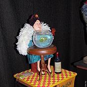 """Куклы и игрушки ручной работы. Ярмарка Мастеров - ручная работа """"Рыбы"""" (проект """"Знаки Зодиака в бабках"""" по рисункам Ольги Громовой). Handmade."""