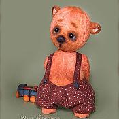 Куклы и игрушки ручной работы. Ярмарка Мастеров - ручная работа Мишка тедди Валерка. Handmade.
