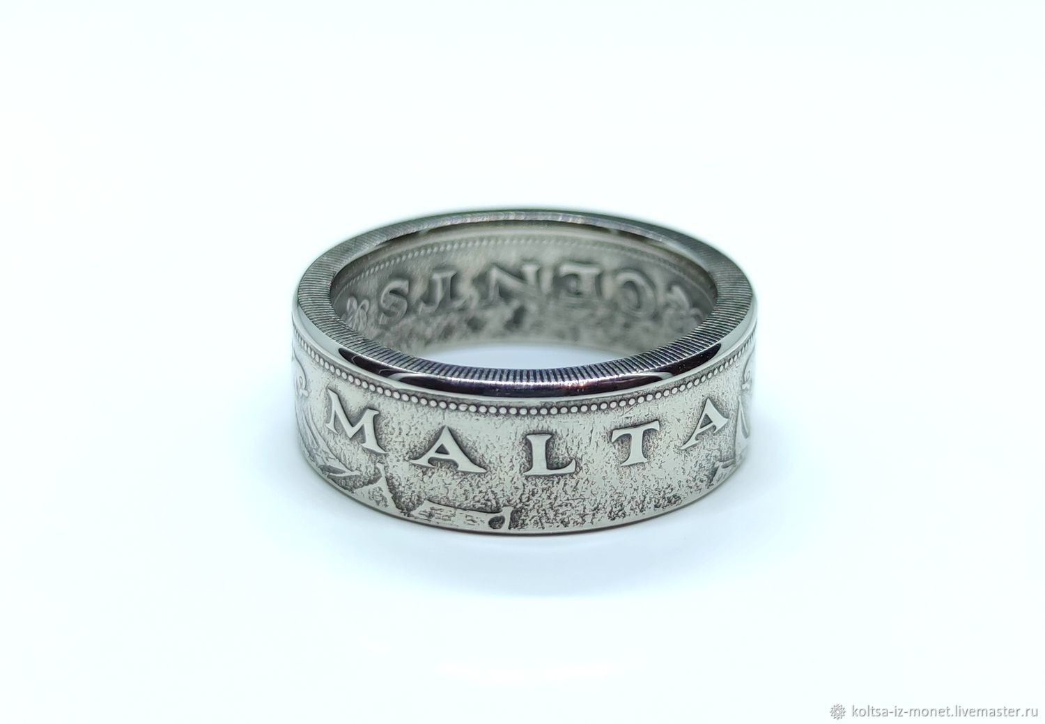 10 cent coin ring, Malta, Rings, Kemerovo,  Фото №1