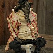 Куклы и игрушки handmade. Livemaster - original item Athanasius.Elephant.. Handmade.