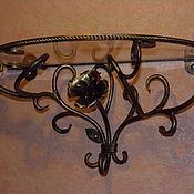 Столы ручной работы. Ярмарка Мастеров - ручная работа Кованая консоль. Handmade.