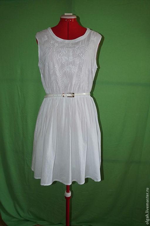 57398e24f71 Платья ручной работы. Ярмарка Мастеров - ручная работа. Купить Платье батист.  Handmade.