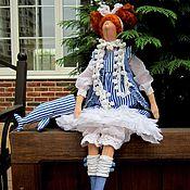 Куклы и игрушки ручной работы. Ярмарка Мастеров - ручная работа Тильда кукла Дорси МилОт и ее Кашалот. Handmade.
