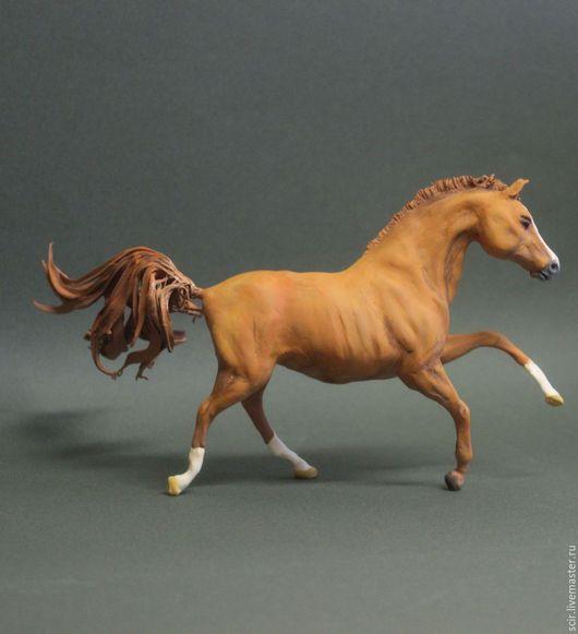 """Игрушки животные, ручной работы. Ярмарка Мастеров - ручная работа. Купить фигурка """"лошадь будённовской породы 2"""" (буденновская лошадь статуэтка). Handmade."""