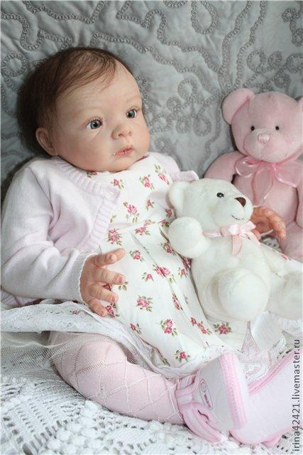 Куклы-младенцы и reborn ручной работы. Ярмарка Мастеров - ручная работа. Купить Кукла реборн Олеся.. Handmade. Дочки и сыночки