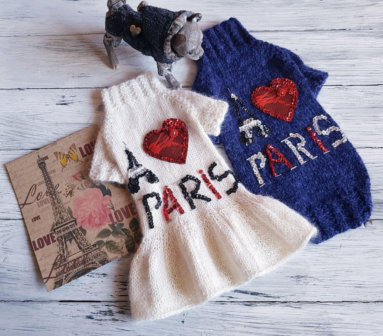 New collection Я люблю Париж, Одежда для питомцев, Иваново,  Фото №1