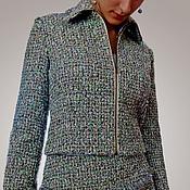 Одежда ручной работы. Ярмарка Мастеров - ручная работа Костюм из коллекционной ткани CHANEL. Handmade.
