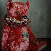 Куклы и игрушки ручной работы. Ярмарка Мастеров - ручная работа Большой мишка с вышивкой. Handmade.