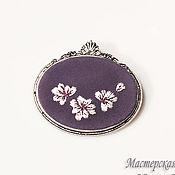 Украшения handmade. Livemaster - original item Embroidered brooch Lady Nimueh. Handmade.