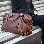 Сумки и аксессуары handmade. Livemaster - original item Bag leather Big Size. Handmade.