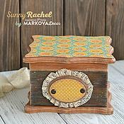 """Для дома и интерьера ручной работы. Ярмарка Мастеров - ручная работа Шкатулка """"Rachel"""". Handmade."""