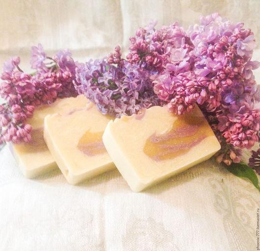 Фото: мыло натуральное Сирень и Липовый Цвет (1500х1450)