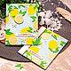 Комплект из сочных летних открыток с лимонами (2 шт) / Скрапбукинг, Открытки, Нижний Тагил,  Фото №1
