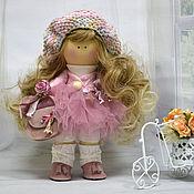 Куклы и игрушки ручной работы. Ярмарка Мастеров - ручная работа Кукла в стиле тильда Розовое Облачко. Handmade.