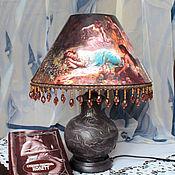 Для дома и интерьера ручной работы. Ярмарка Мастеров - ручная работа Лампа настольная, интерьерная. Handmade.