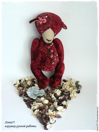 Мишки Тедди ручной работы. Ярмарка Мастеров - ручная работа Мишка Тедди. Веста. Handmade.