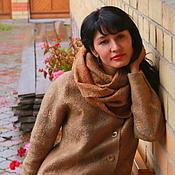 Одежда ручной работы. Ярмарка Мастеров - ручная работа пальто цельноваляное легкое Осеннее настроение. Handmade.