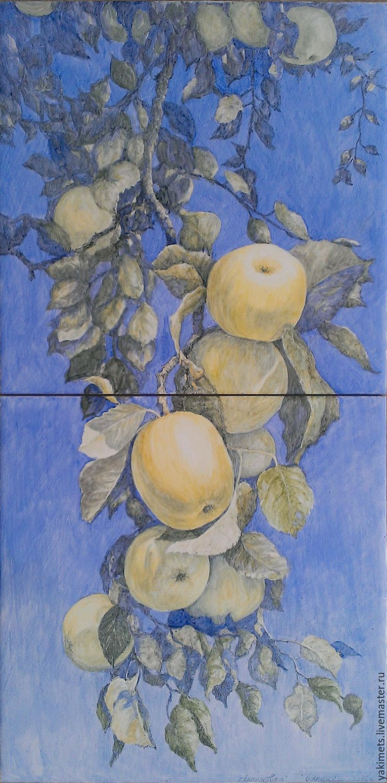 Антоновка (картина на плитке), Картины, Заокский,  Фото №1