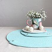 Для дома и интерьера handmade. Livemaster - original item Swipe: Napkins serving cotton set placemats. Handmade.